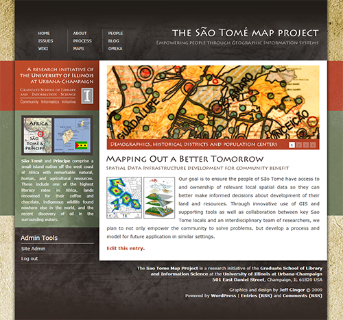 Sao Tome Map Project